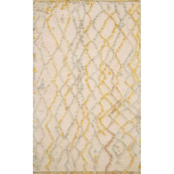 Symbology Ivory with Multicolor Rectangle: 7 Ft. 9 In. x 9 Ft. 9 In. Rug, image 1