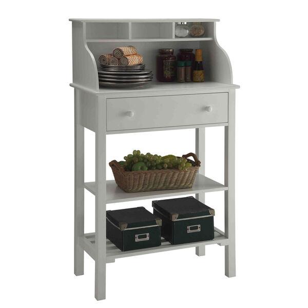 Designs2Go White Storage Desk, image 2