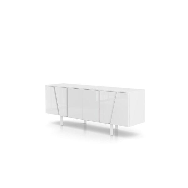 Mott Glossy White Sideboard, image 6