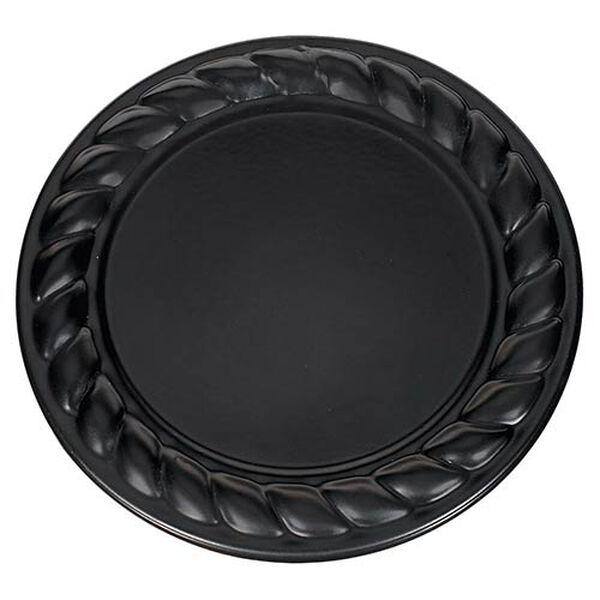 Hunnington Black Two-Light Outdoor Flush Mount with Clear Seeded Glass, image 2