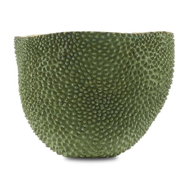 Green and Gold Large Jackfruit Vase, image 2