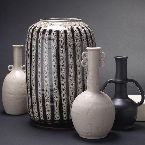 Barnaby Beige and Black Vase, image 4