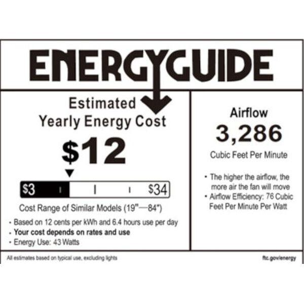 Stout Coal 54-Inch LED Ceiling Fan, image 2