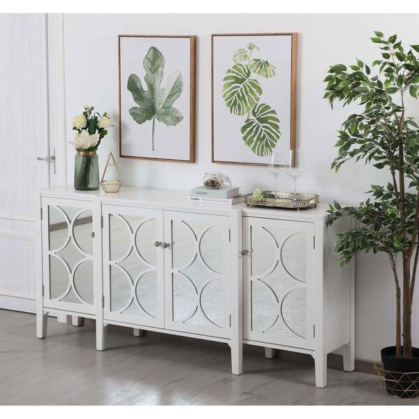 Modern White 72-Inch Sideboard, image 4