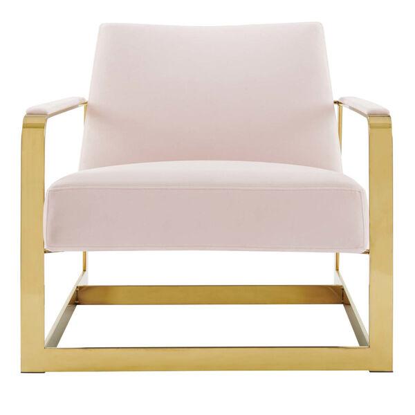 Monroe Performance Velvet Accent Chair, image 1