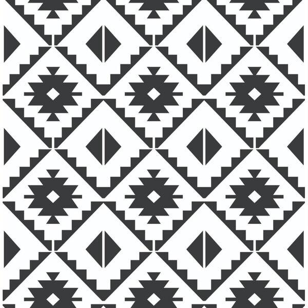 NextWall Southwest Tile Peel and Stick Wallpaper, image 2