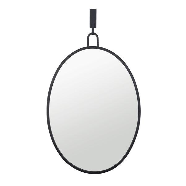 Stopwatch Black Wall Mirror, image 1