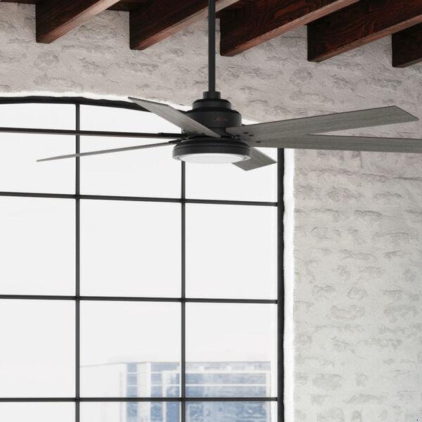 Warrant Matte Black 70-Inch LED Ceiling Fan, image 5