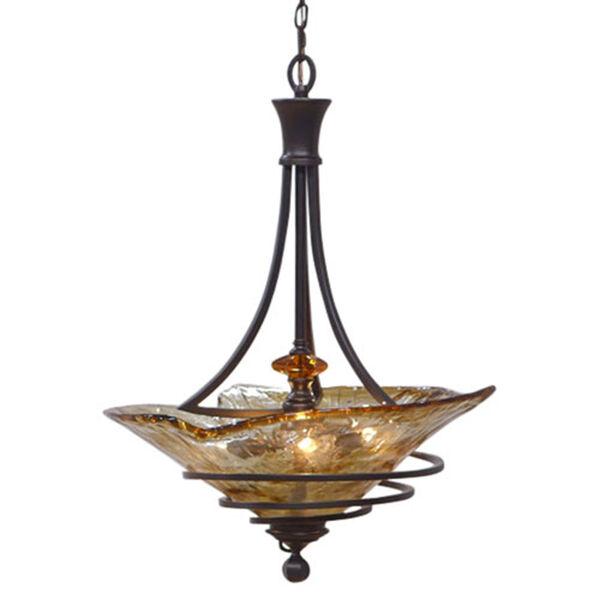 Vitalia Three-light Bowl Pendant, image 3