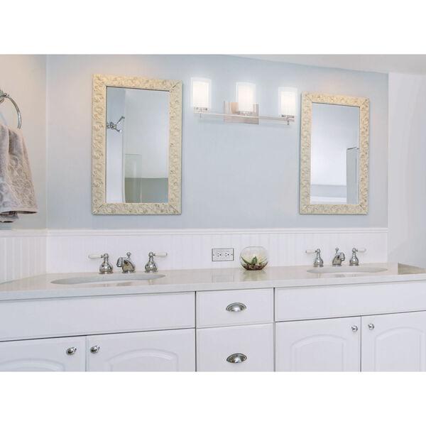 Harrow Brushed Nickel Three-Light Vanity - (Open Box), image 2