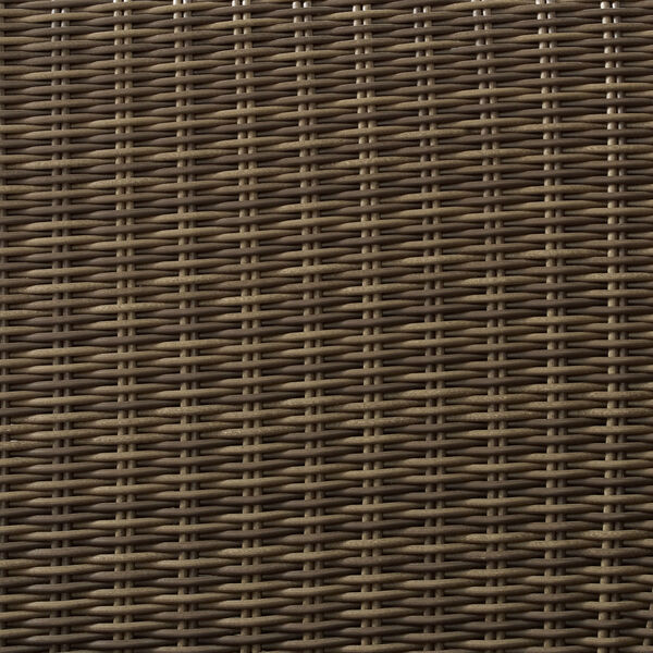 Bradenton Weathered Brown and Gray Outdoor Wicker Armchair, image 5