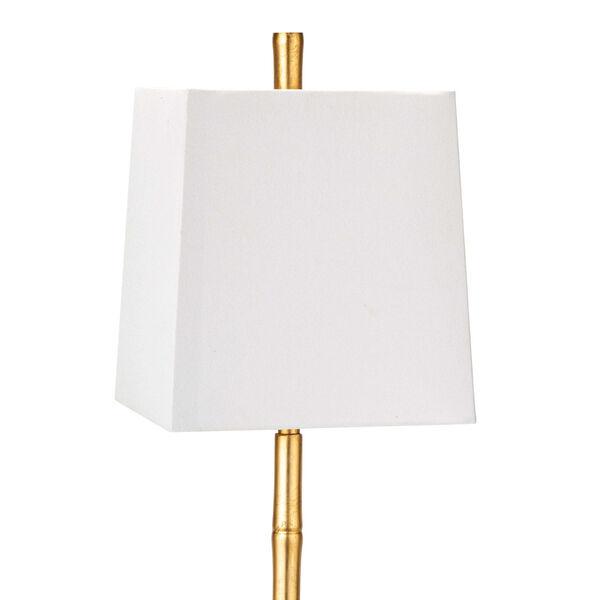 Sarina Gold Leaf One-Light Table Lamp, image 2