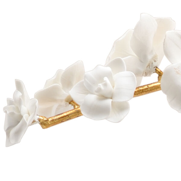 Bradshaw Orrell White Orchid Stem- Medium, image 2