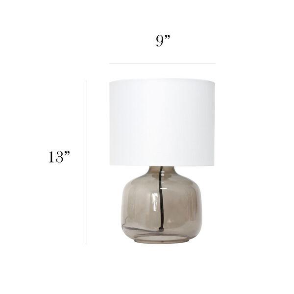 Cerise Smoke White One-Light Table Lamp, image 3