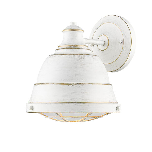 Bartlett French White One-Light Wall Sconce with French White Shade, image 3