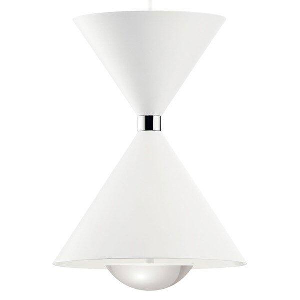 Kordan Matte White LED Pendant, image 3