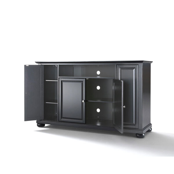 Alexandria 60-Inch TV Stand in Black Finish, image 2