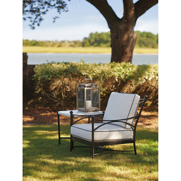 Pavlova Graphite and White Lounge Chair, image 3