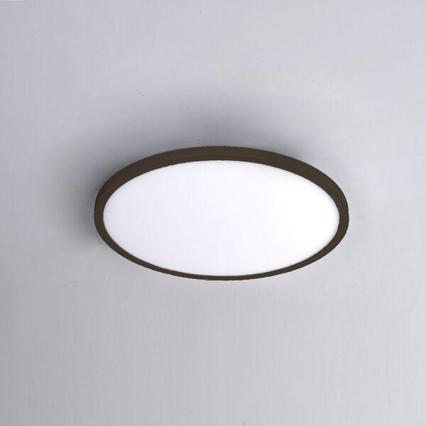 Bronze 11-Inch 3000K LED ADA Round Flush Mount, image 2