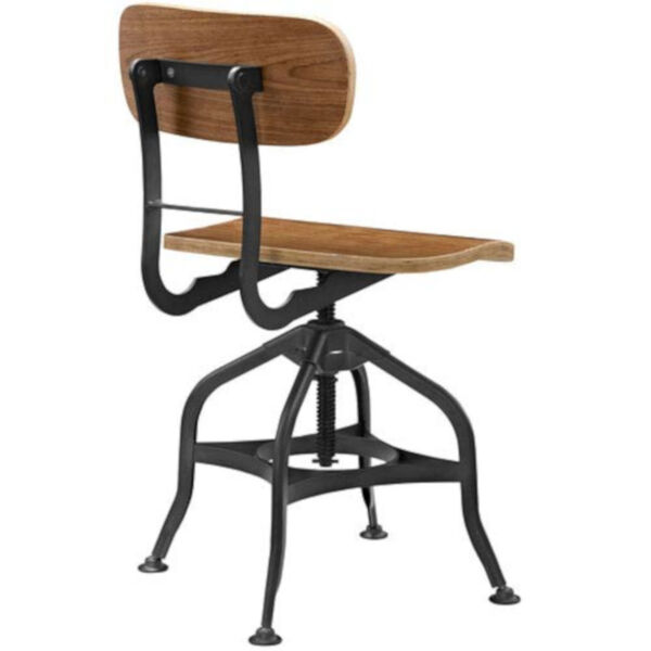 River Station Brown Laminated Bentwood Seat and Back Bar Stool, image 4