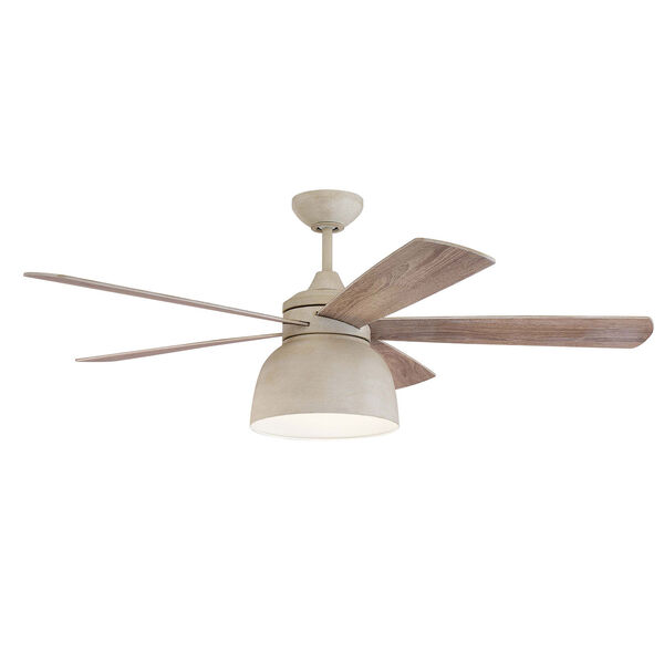 Ventura Cottage White Led 52-Inch Ceiling Fan, image 1