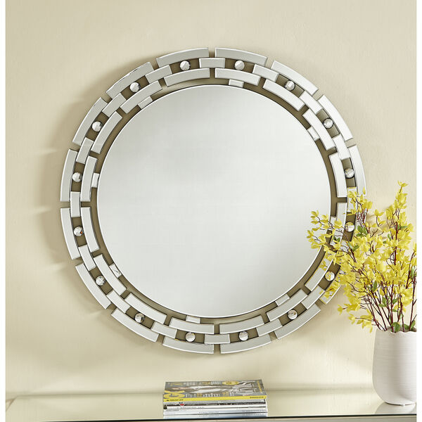 Sparkle Glass 36-Inch Mirror, image 2