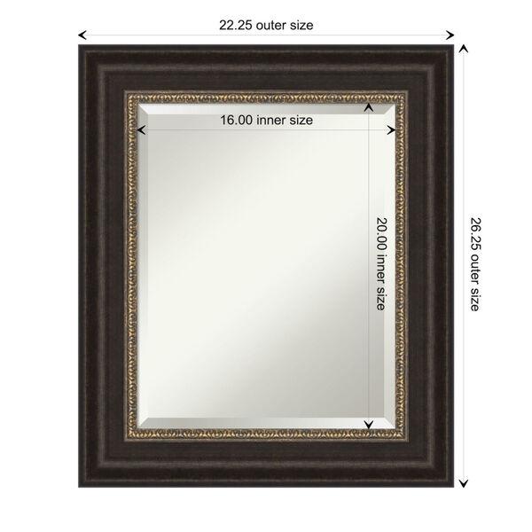 Bronze 22W X 26H-Inch Bathroom Vanity Wall Mirror, image 6