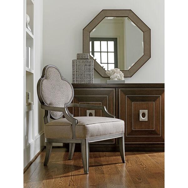 Macarthur Park Brown Riva Octagonal Mirror, image 3