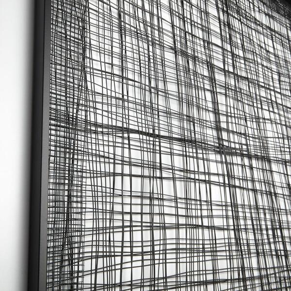 Graphite Large Belham Wall Decor, image 2