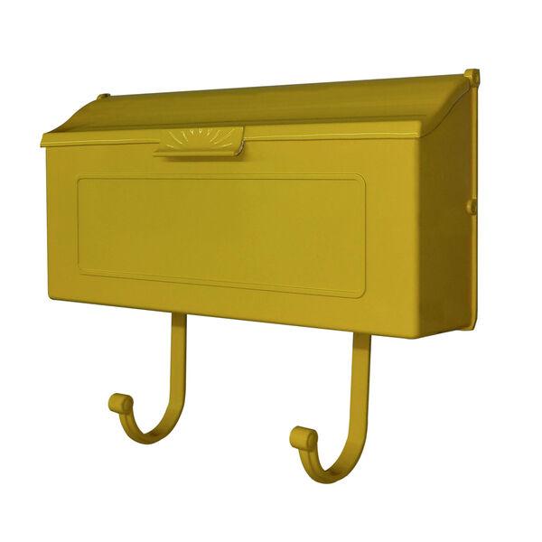 Nash Yellow Horizontal Mailbox, image 2