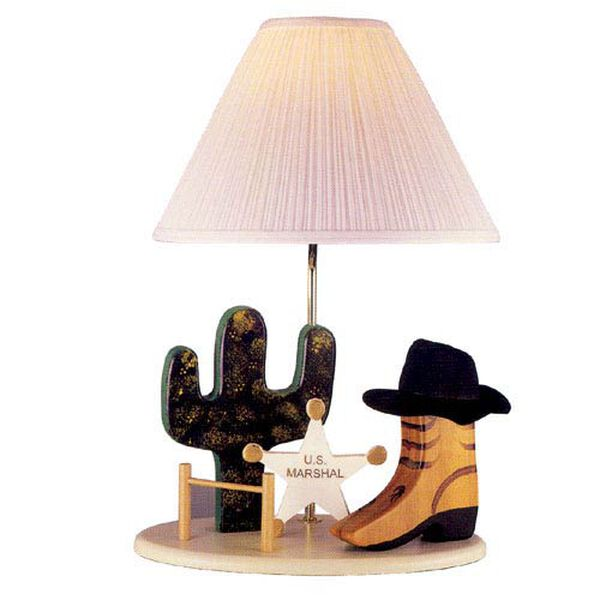 Cowboy Lamp, image 1
