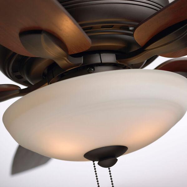 Pro Series Oil Rubbed Bronze Ashland Three Light Ceiling Fan, image 7