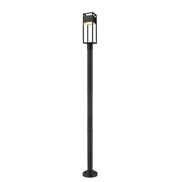 Barwick Black 95-Inch One-Light LED Outdoor Post Mount, image 1