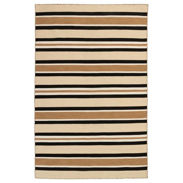Liora Manne Sorrento Sisal 42 x 66 Inches Cabana Stripe Indoor/Outdoor Rug, image 1