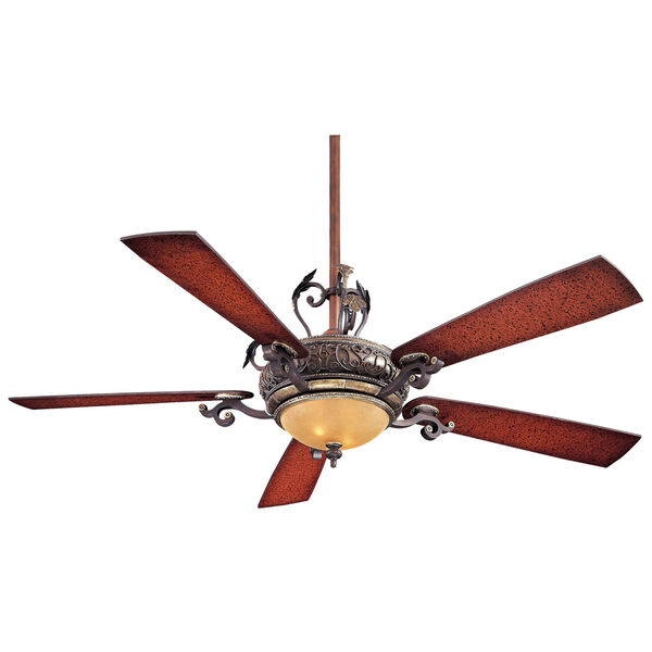 Napoli Sterling Walnut 56-Inch LED Ceiling Fan, image 1