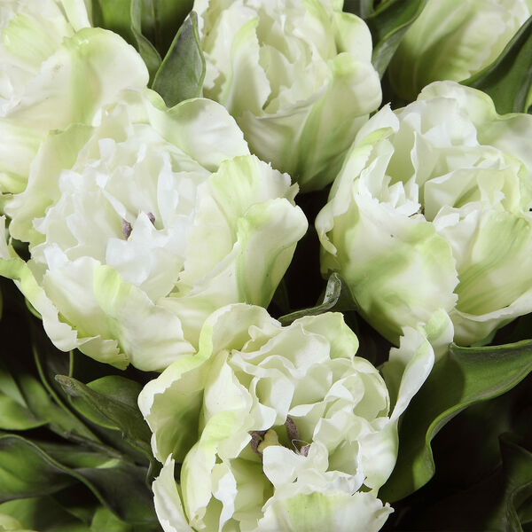 Kimbry White Tulip Centerpiece, image 4