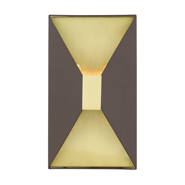 Lexford Bronze Two-Light ADA Wall Sconce, image 1