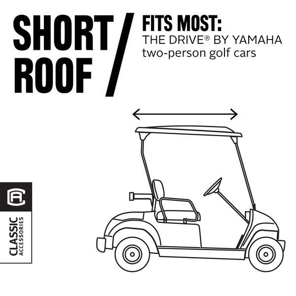Cypress Khaki Yamaha Drive Golf Car Enclosure, image 2
