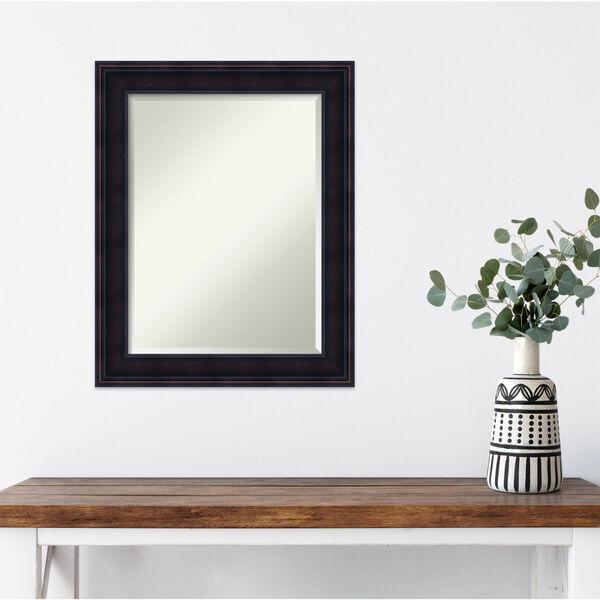 Annatto Mahogany 23W X 29H-Inch Decorative Wall Mirror, image 3