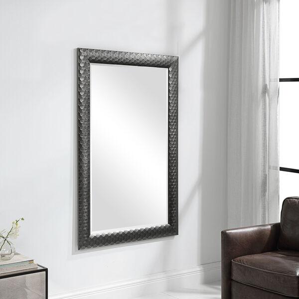 Caldera Textured Gray Mirror, image 1