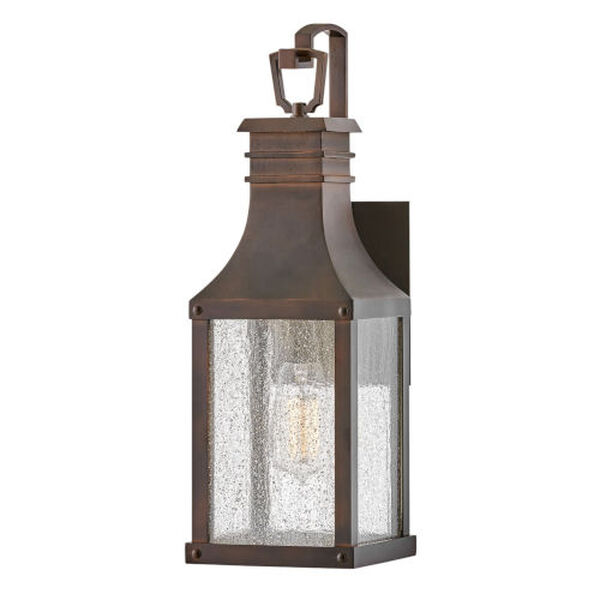 Beacon hill Blackened Copper One-Light Outdoor Wall Mount, image 1