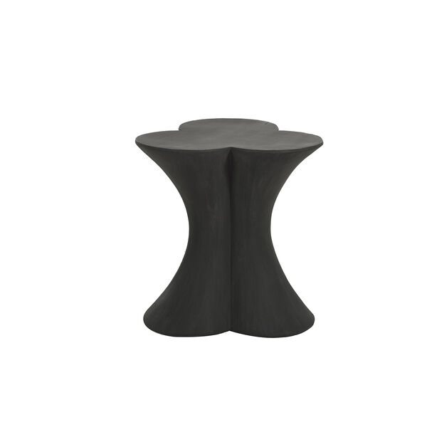 Carlin Textured Charcoal Black End Table - (Open Box), image 2