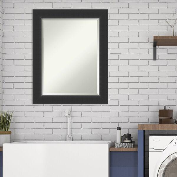Corvino Black 23W X 29H-Inch Bathroom Vanity Wall Mirror, image 3