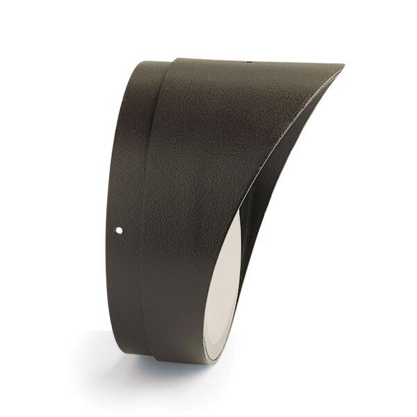 Textured Architectural Bronze Line Voltage Landscape PAR30 Cowl and Lens, image 1