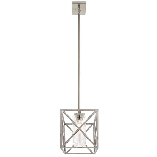 Moorgate Distressed Antique White Five-Light Chandelier, image 3