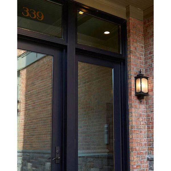 Kahler Rubbed Bronze Three-Light Outdoor Wall Mount, image 4