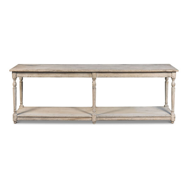 Gray Jensen Console Table, image 1