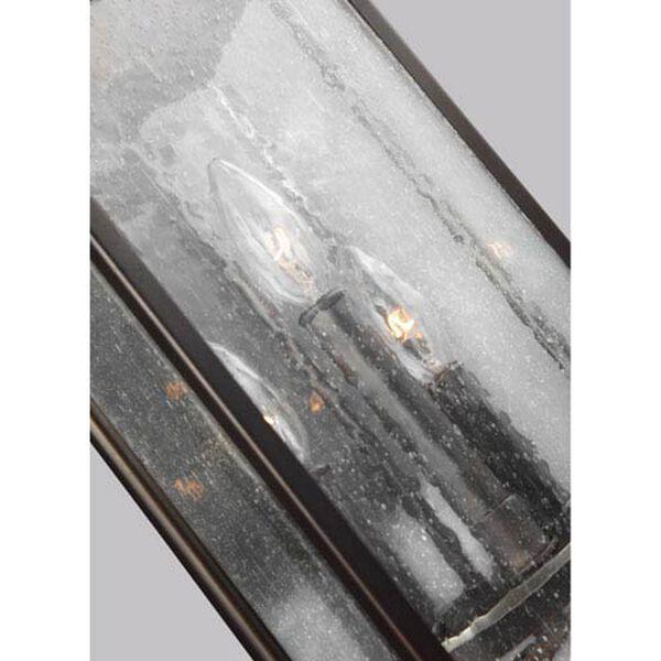 Buchanan Bronze 9-Inch Three-Light Outdoor Wall Lantern, image 3