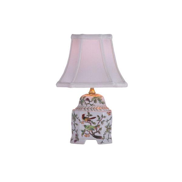 Porcelain Ware One-Light Multicolor Jar Lamp, image 1