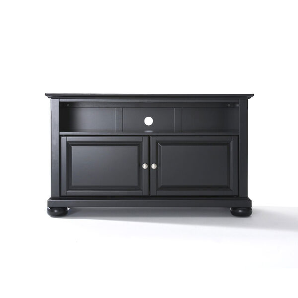 Alexandria 42-Inch TV Stand in Black Finish, image 1